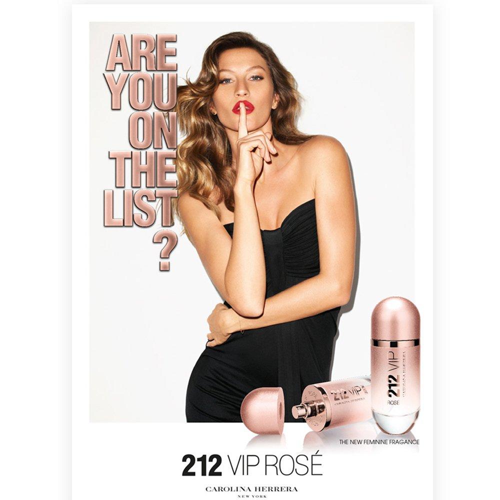 perfume carolina herrera 212 vip rose feminino edp 80 ml 24692 2000 91587