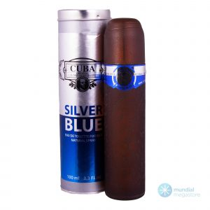 perfume cuba silver blue masculino 100 ml 212 men 45352 2000 195759