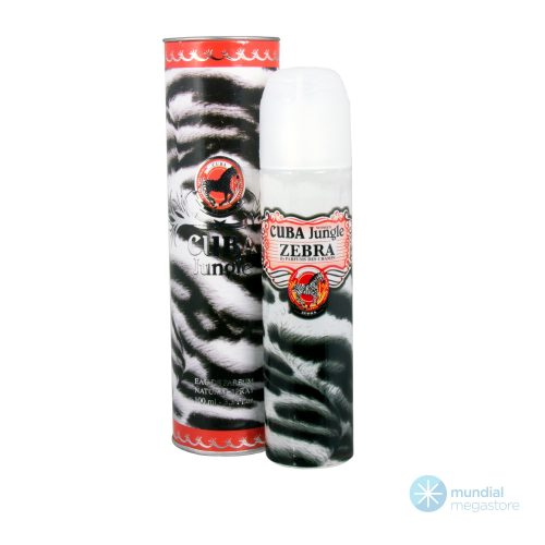 perfume cuba zebra feminino 100 ml jadore 34435 2000 195907
