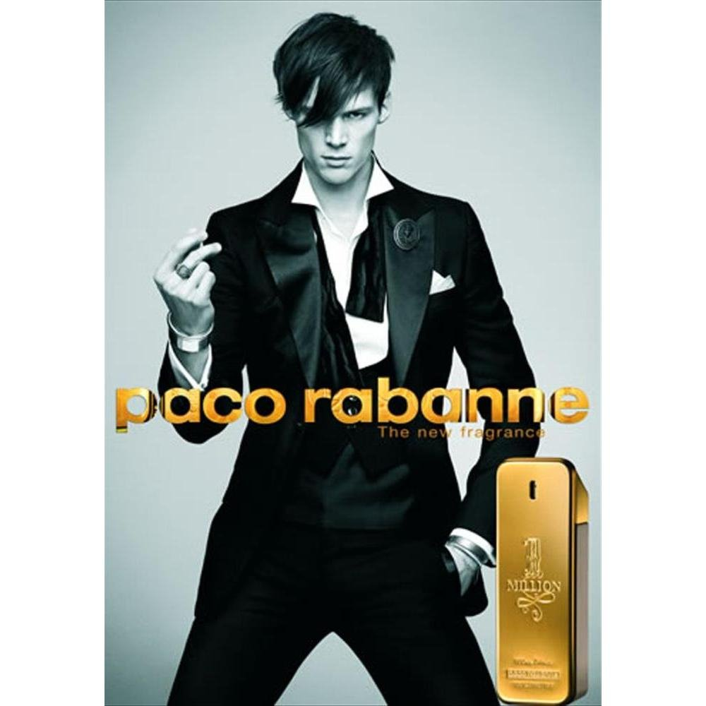 perfume paco rabanne one million masculino edt 100 ml 6148 2000 63645