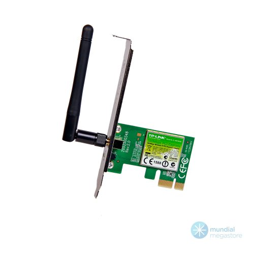placa pci rede mini wireless tp link tl wn781 150mbps 35284 2000 195999