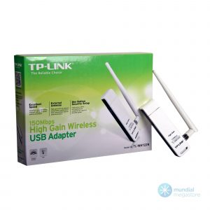 wireless rede usb tp link 722n 150mbps com antena 6701 2000 196003