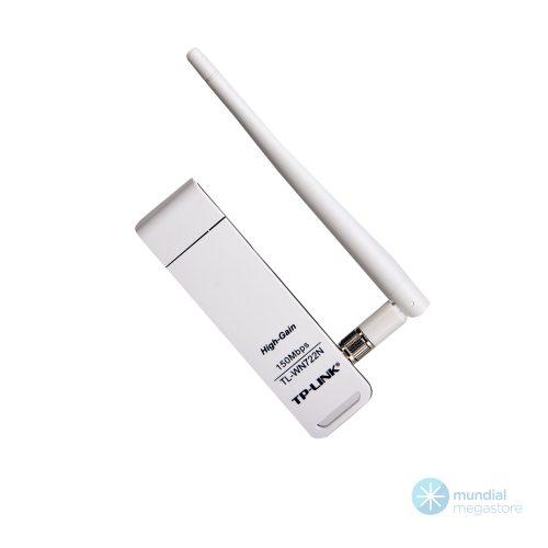 wireless rede usb tp link 722n 150mbps com antena 6701 2000 196004