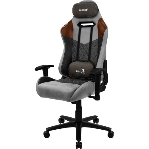 cadeira gamer surpreendente aerocool duke tan grey 49603 2000 200619