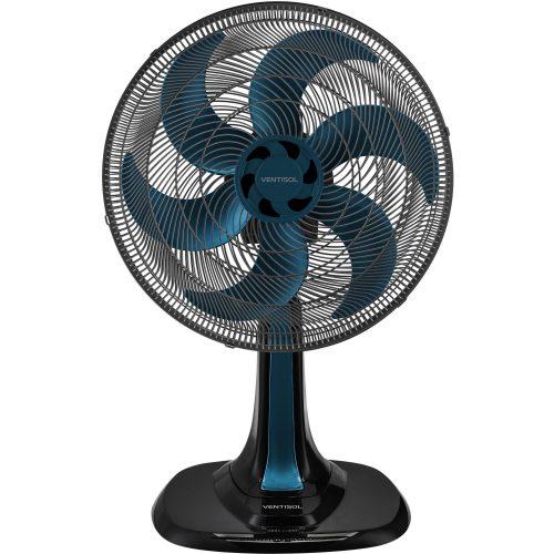 ventilador de mesa disponivel somente aqui ventisol turbo6 azul 40cm 127v 49558 2000 200660