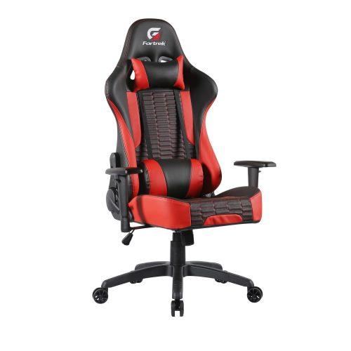 cadeira gamer incrivel fortrek cruiser preta vermelha 49704 2000 200811