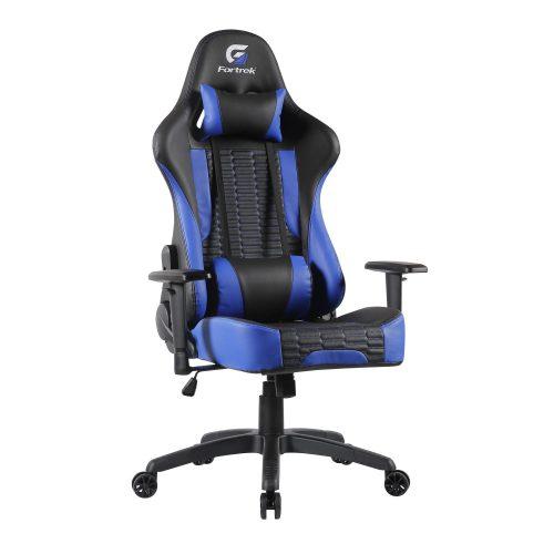 cadeira gamer inesquecivel fortrek cruiser preta azul 49703 2000 200812