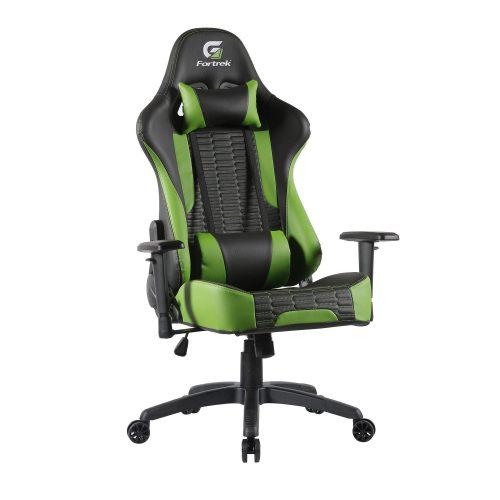 cadeira gamer irresistivel fortrek cruiser preta verde 49702 2000 200813