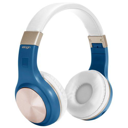 fone de ouvido bluetooth sem fio confort elogin hb15 azul 49721 2000 200850