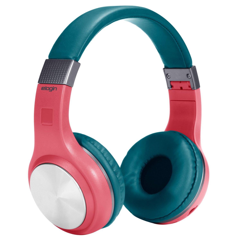fone de ouvido bluetooth sem fio confort elogin hb15 vermelho 49723 2000 200852