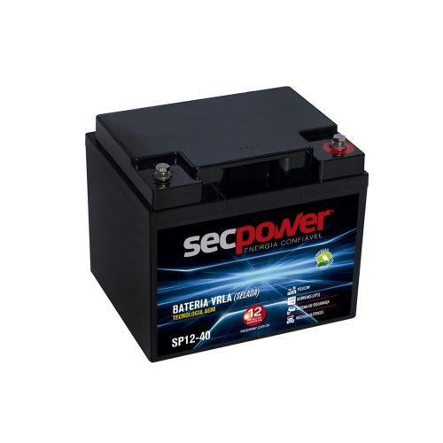 bateria de chumbo venda termina em breve sp12 40 secpower acida vrla 49833 2000 201099