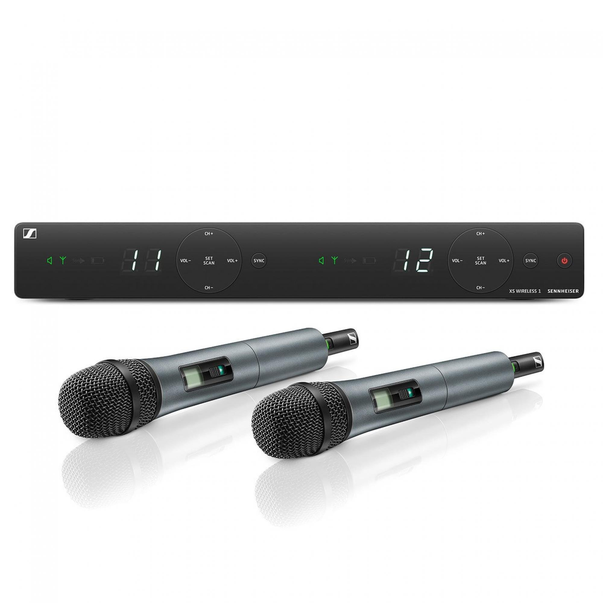 microfone sem fio especial sennheiser duplo xsw1835du 49920 2000 201145