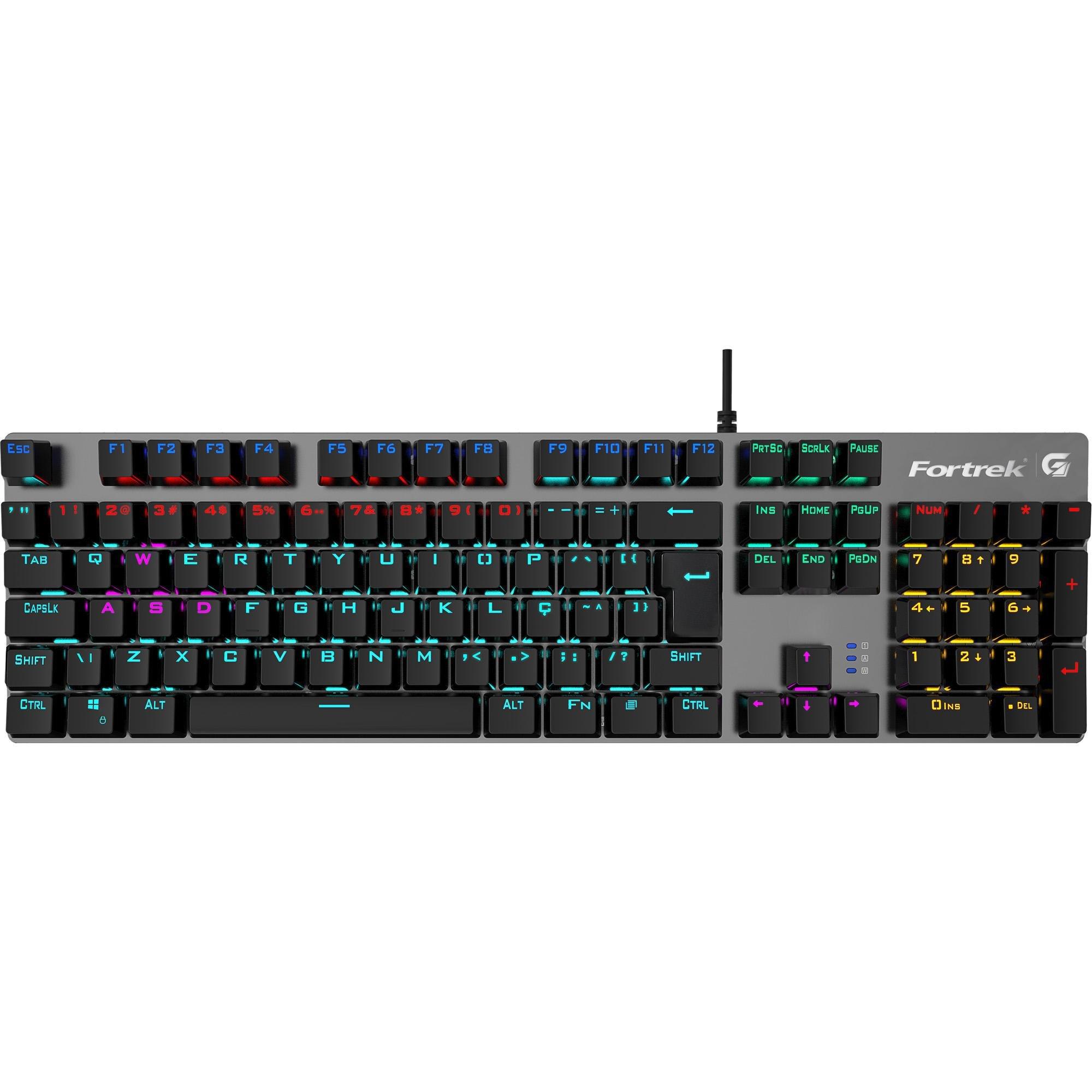 teclado gamer mudanca de vida grey fortrek hawk dark mecanico rbw black 49877 2000 201064