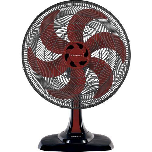 ventilador de mesa oferta quente ventisol turbo6 vermelho 50cm 220v 49870 2000 201069