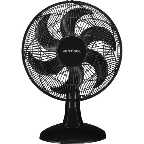 ventilador de mesa sedutor preto ventisol turbo economy 40cm 127v 49861 2000 201074