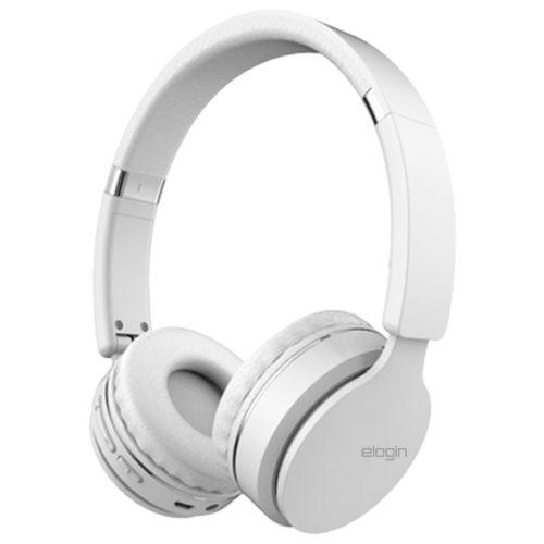 fone de ouvido bluetooth sem fio hf02 headphone elogin branco 49805 2000 201142