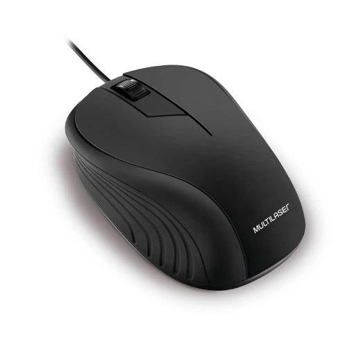 mouse usb optico mo222 multilaser preto 50014 2000 201362