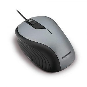 mouse usb optico mo225 multilaser preto e cinza 49985 2000 201231