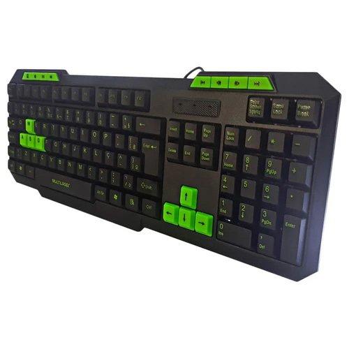 teclado gamer usb multimidia verde tc243 multilaser 49992 2000 201236