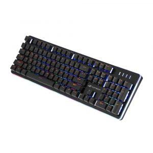 teclado gamer usb semi mecanico kg 300bk c3tech preto 49801 2000 201031