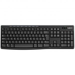 teclado usb sem fio k270 logitech preto 49993 2000 201250