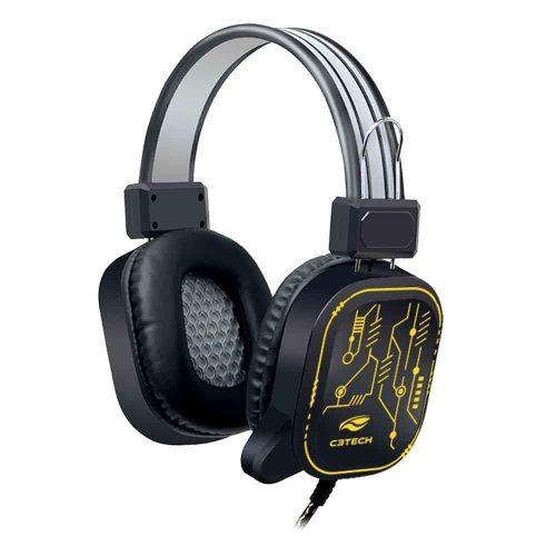 fone de ouvido com microfone gamer crane ph g320bk c3 tech 50047 2000 201326