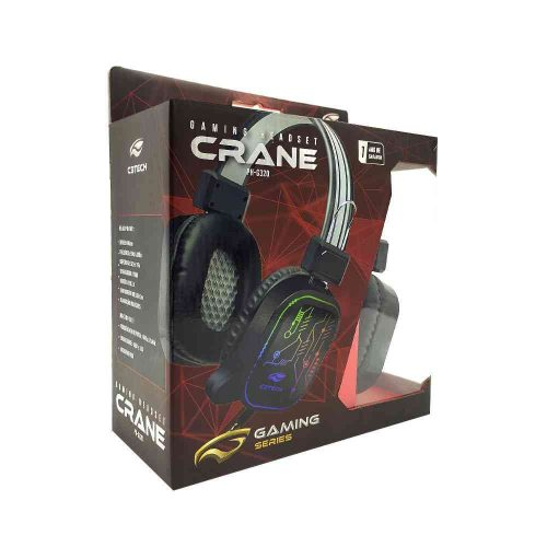 fone de ouvido com microfone gamer crane ph g320bk c3 tech 50047 2000 201329