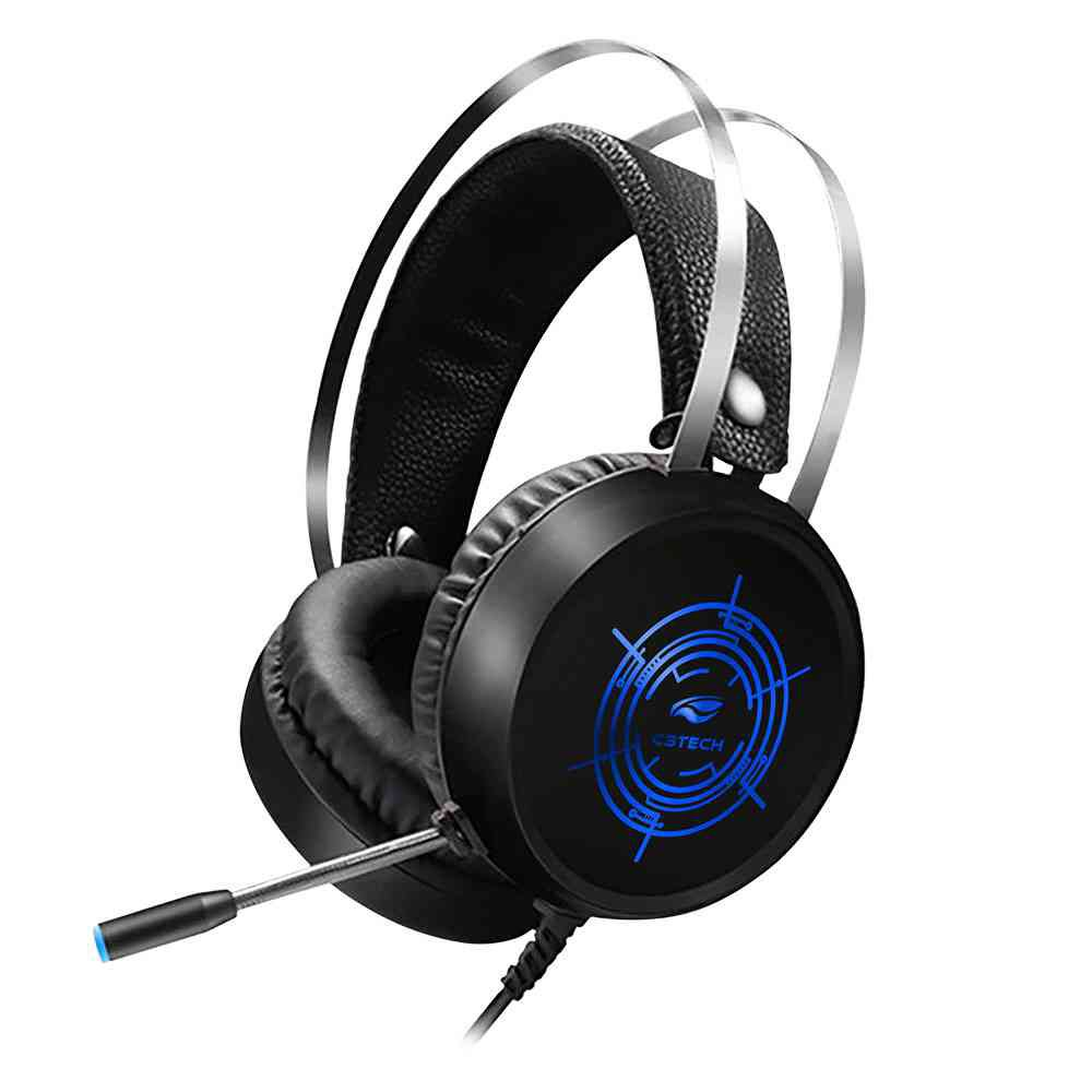 fone de ouvido com microfone gamer harrier ph g330bk c3 tech 50048 2000 201330