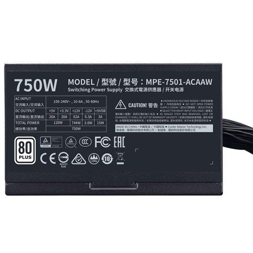 fonte atx gamer 750w cooler master mwe 50062 2000 201358