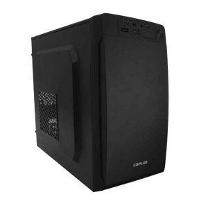 gabinete micro atx mt 11bk com fonte ps 200w c3tech s cabo 50109 2000 201447
