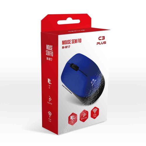 mouse sem fio 1600dpi m w017bl azul c3tech 50143 2000 201528