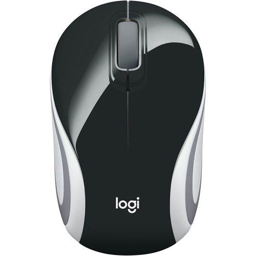 mouse sem fio logitech m187 24ghz preto 50106 2000 201465