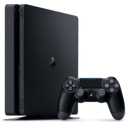 video game playstation play 4 hd 1tb slim ps4 caixa azul 50128 2000 201479