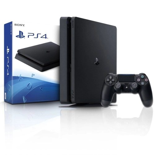 video game playstation play 4 hd 1tb slim ps4 caixa azul 50128 2000 201489