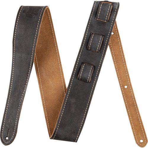 correia para instrumentos exclusivo fender worn preta couro road 41795 2000 184053 1