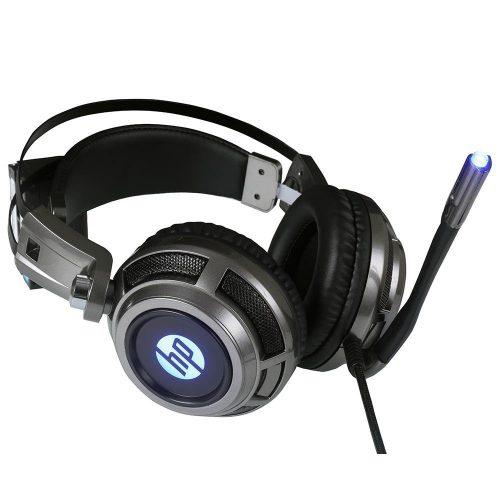 fone de ouvido com microfone gamer 1 p2usb h200 led hp preto 50408 2000 201773 1