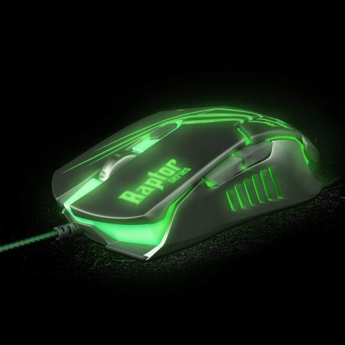 mouse gamer facil preto verde fortrek raptor om 801 usb 3200dpi 42930 2000 181176 1