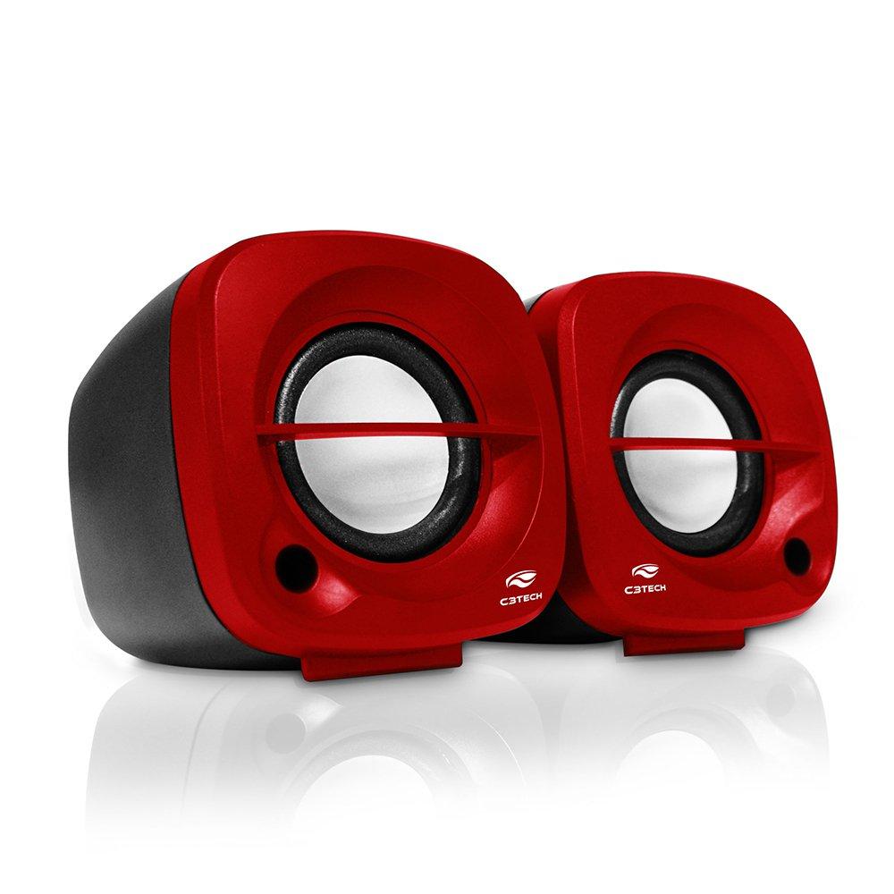 caixa de som multimidia sp 303 rd usb c3tech vermelha 45701 2000 199213 1