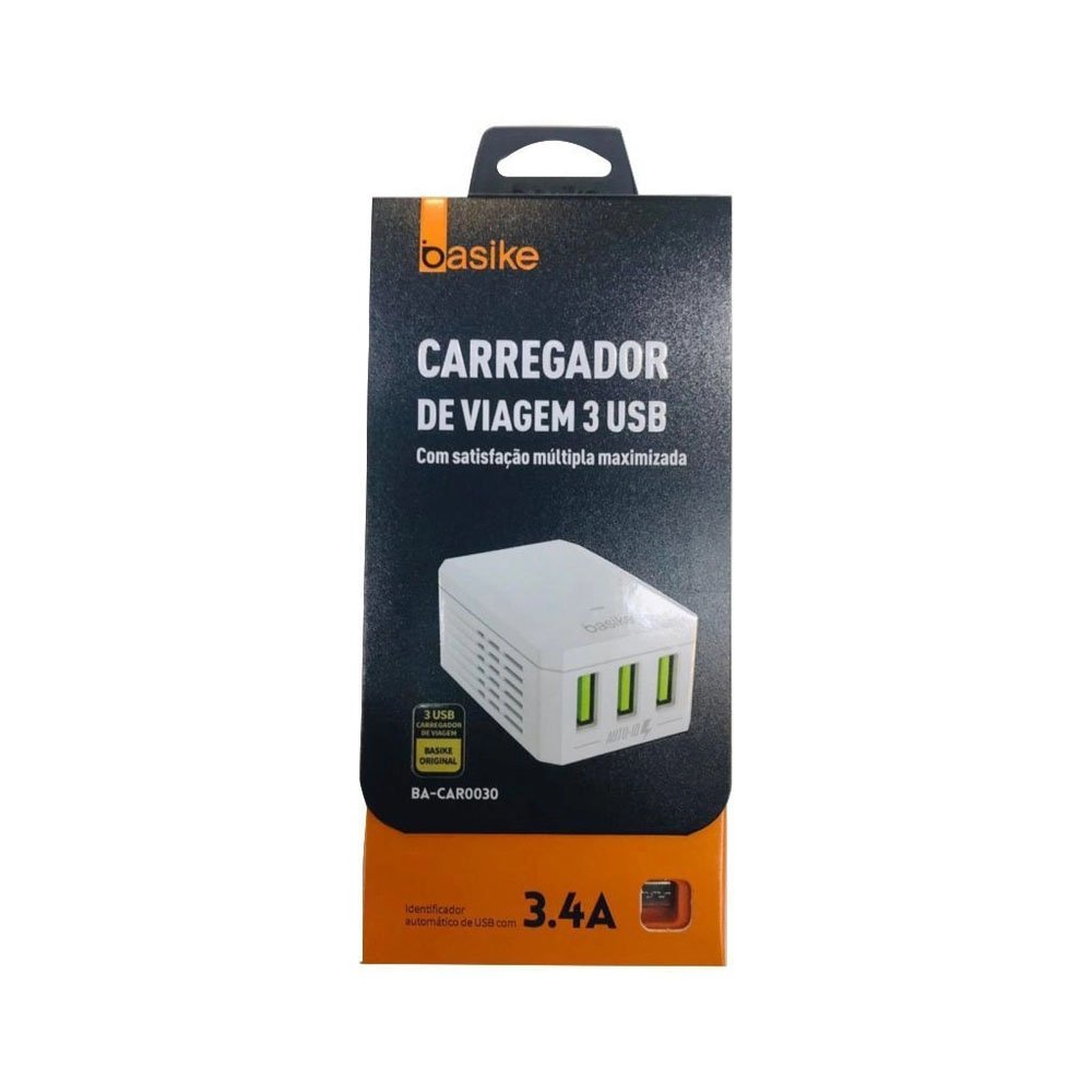 carregador rapido de celular tipo c tomada basike ba car0031 34a 50201 2000 201707 1