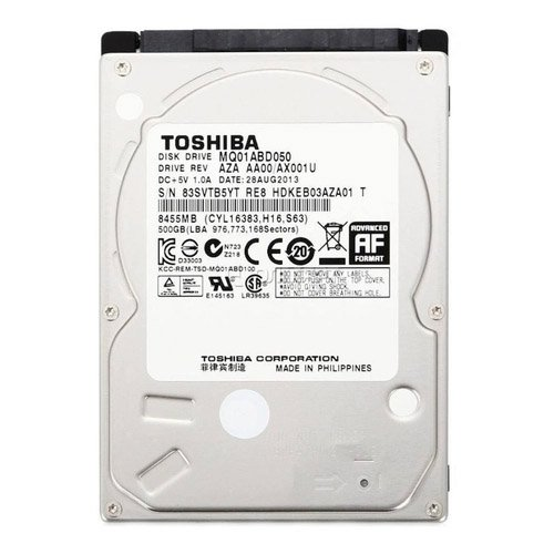 hd sata notebook 500gb toshiba 50301 2000 201689 1