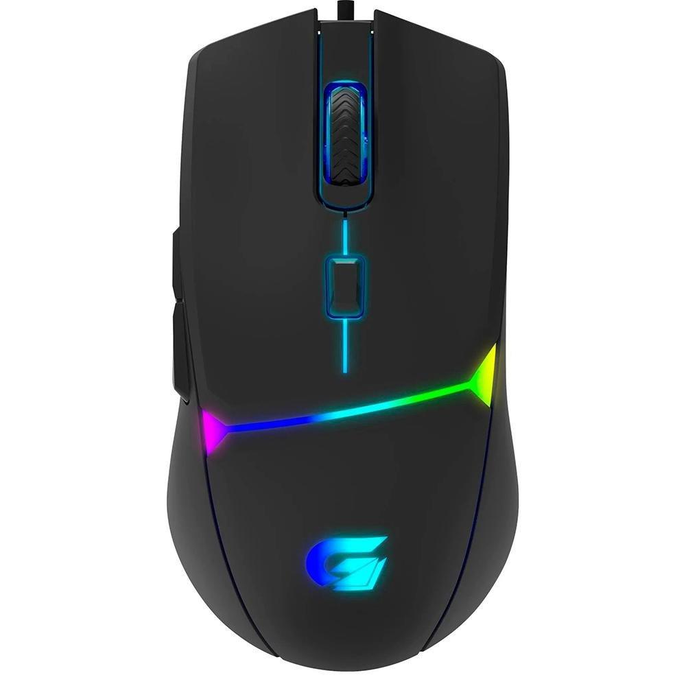 mouse usb gamer crusader rgb 7200dpi preto fortrek g 50482 2000 201963